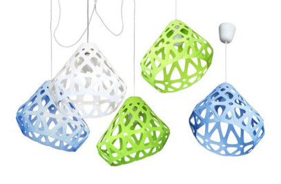 ZAHA LIGHT chandelier + 2 pendant light set