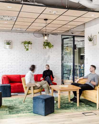 Nordea Less Waste Office in Gdynia