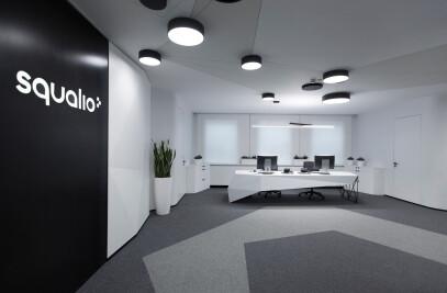 Interior of the SQUALIO office