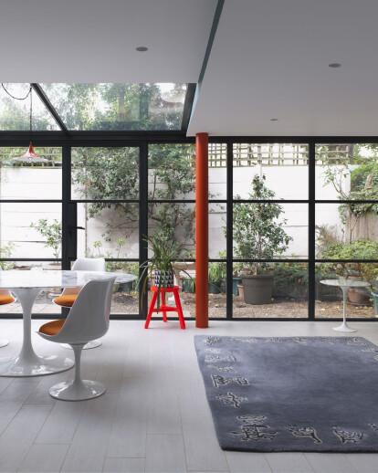 Gridded Glazing at British Grove