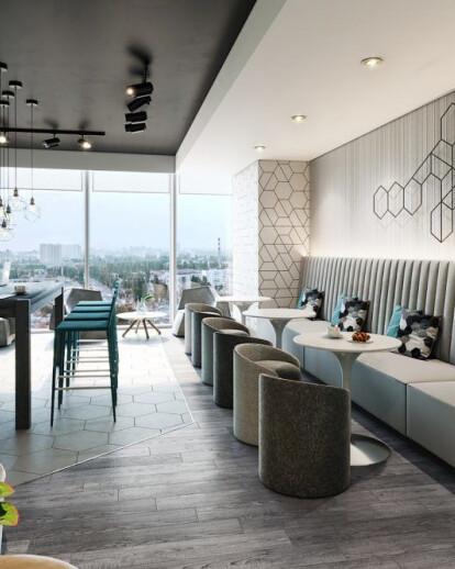 Private Government Office Abu Dhabi Dwp Design Worldwide Partnership Archello