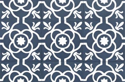 Cement tile, pattern ref. 10710