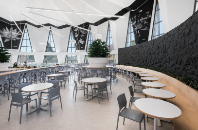 The cafeteria — Le Marie-Victorin
