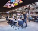 Flexible working area & restaurant