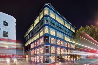 Office & retail facade