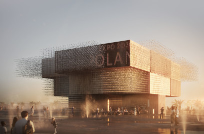 The Polish Pavilion at EXPO 2020 in Dubai