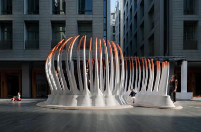 Deciduous - 3D Printed Pavilion