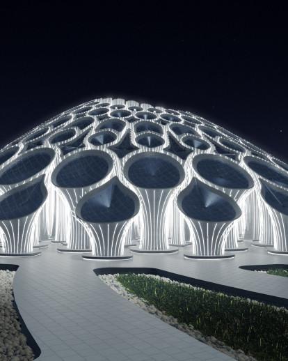 Expo 2020 - Boulevard Roundabout Pavilion
