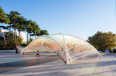 Ripple Pavilion - Four Thousand Pixels in Motion