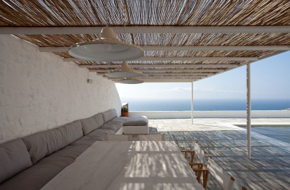 Summer House Renovation In Mykonos Island