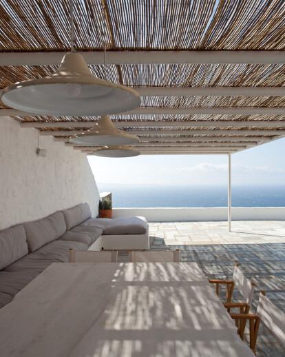 Summer House Renovation In Mykonos Island
