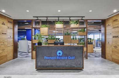 Corporate Office Interiors Pernod Ricard Gulf