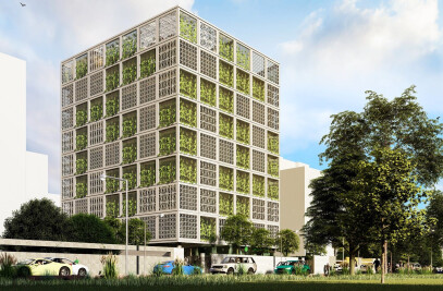 Green Box -Architecture Design of College