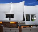 The fabric wave facade