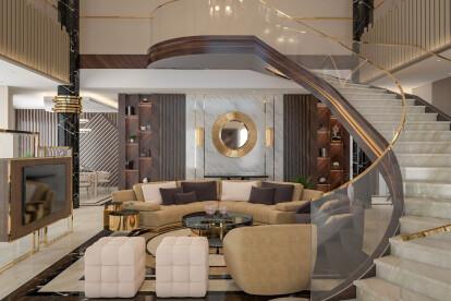 Luxury Contemporary Villa Interior Design Comelite Architecture Structure And Interior Design Archello