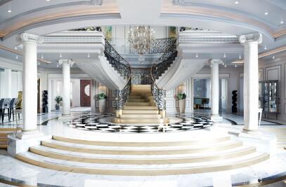 Luxury Neoclassical Palace Interior Design
