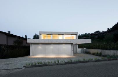 Concrete Villa Comano