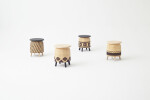 Tokyo Tribal Stools by Nendo for Industry+
