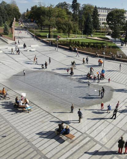 Revitalization of Powstańców & Sobieskiego streets