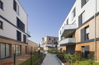 Eco-district, 157 housing, nursery and shops