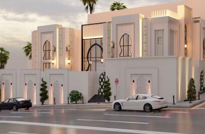 Modern Arabic Villa Architectural Design