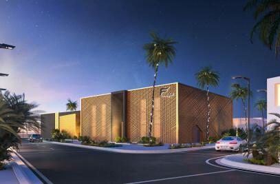Modern Ladies' Spa and Fintess Center Design