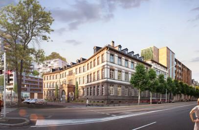 Rehabilitation of the former Adassa Clinic