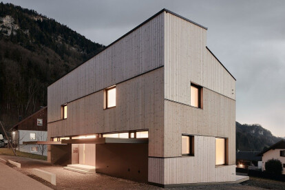 Austrian house revives traditional qualities using minimal resources