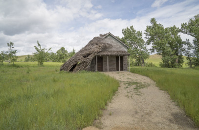 "Tippet Rise Art Center ""Daydreams"" School House"