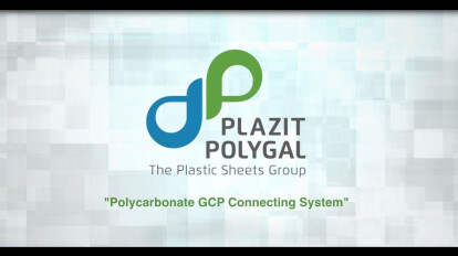 Plazit-Polygal Polycarbonate GCP Connecting System
