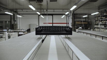The making of the Magister sofa