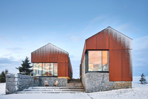 Modern Nova Scotia holiday home draws from the local fishing village vernacular