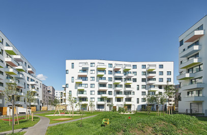 Seestadt Aspern – residential building 4D4