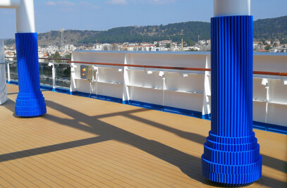 Pillar paddings on cruises