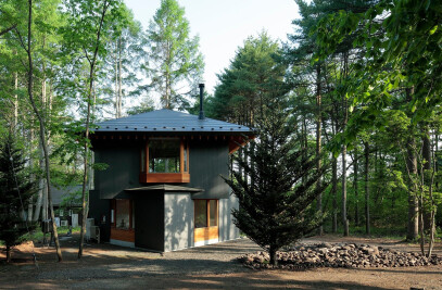 House at Foot of Mountain