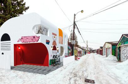 Graffiti Laneway House