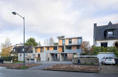 6 Social Housing Units At Rennes