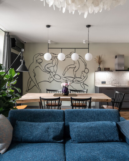 Designer's apartment