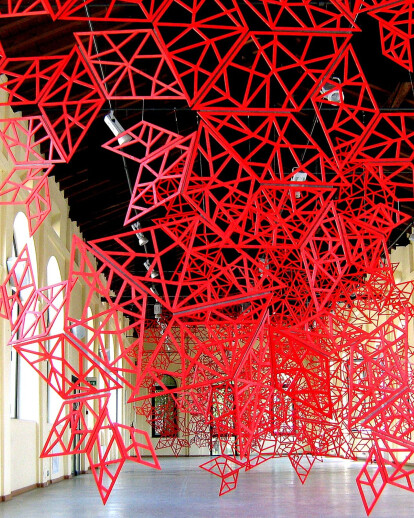 """M-ENNESIMA""_site-specific structural installation"