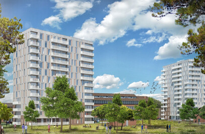 GORTERCOMPLEX, REDEVELOPMENT AND NEW BUILD