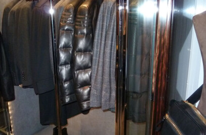 CLOTHING STAND IN METAL