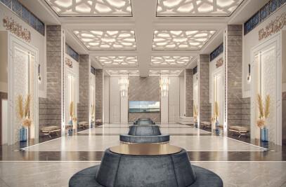 Memphis Masjid Interior Design