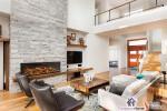 E60 Single-Sided Electric Fireplace