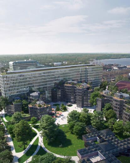 MVRDV Reveals Images of Tripolis Complex in Amsterdam