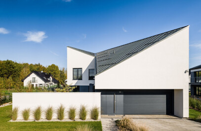 Asymmetrical House