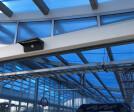 Buff-n-Shine's car wash roof.