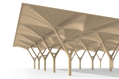Woodflow brings the natural intelligence of tree structures to engineered wood