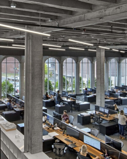 Former Nashville Public Library transformed by an ambitious adaptive reuse strategy