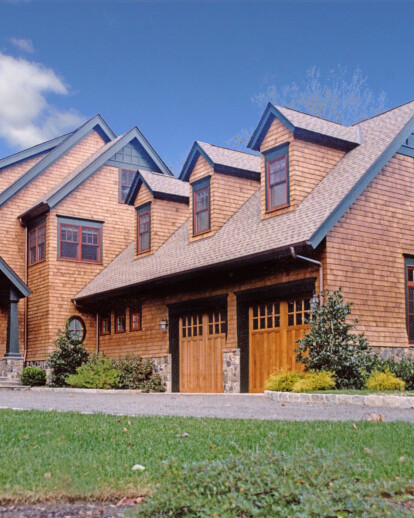 Shingle style spec house