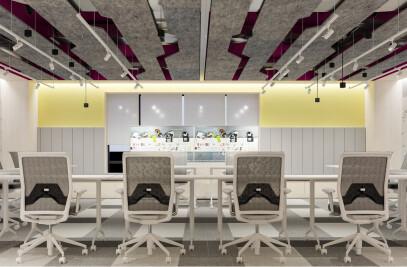STC Innovation Lab Interior Design